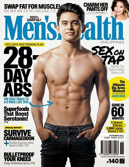James Reid - Men's Health Nov. 2014