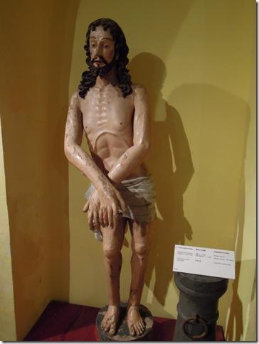 綁在柱上的基督