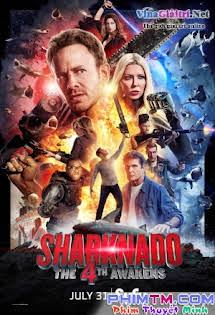 Cá Mập Cuồng Loạn 4 - Sharknado 4: The 4th Awakens Tập HD 1080p Full