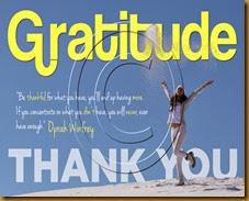 Gratitude Vision Paper # 1