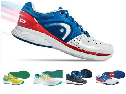 Mejores Zapatillas de Pádel HEAD 2014. Análisis gracias a la tienda online NEWPADEL.