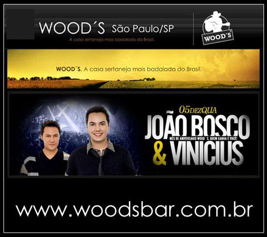João Bosco e Vinícius no Wood's Bar em São Paulo