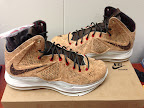 nike lebron 10 gr cork championship 7 02 Updated Nike LeBron X Cork Release Information by Footlocker