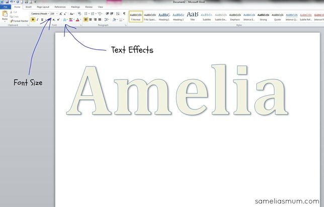 Applique Word Document