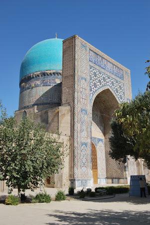 Obiective turistice Uzbekistan: Shakhrisabz - Kok Gombaz