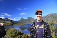 Gerrod at Cradle mountain