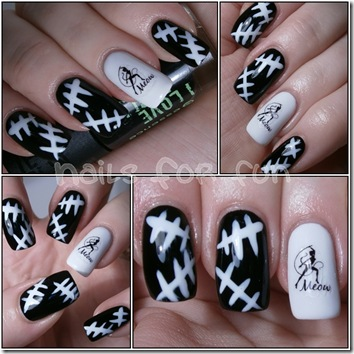 cat woman nails