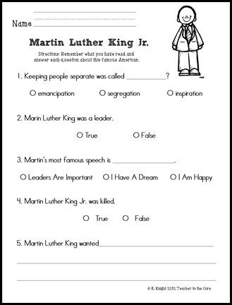 MLK test