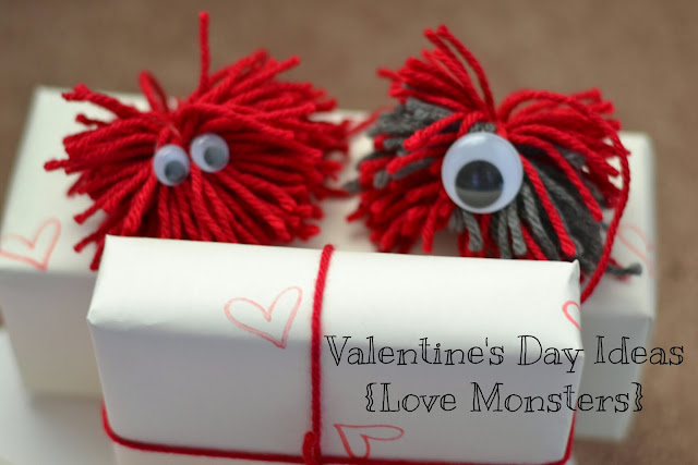 Valentines Day Love Monster - kid party ideas Cordier Events