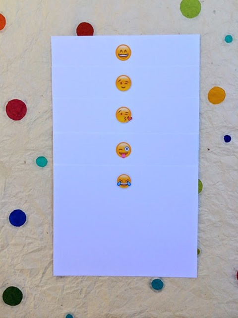 emoji in line 2