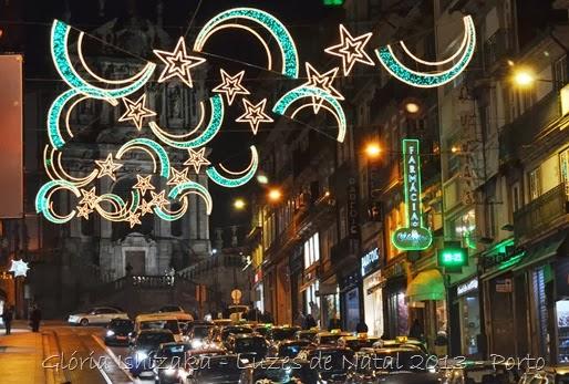 Glória Ishizaka - Luzes de Natal 2013 - Porto 1 Rua dos Clérigos