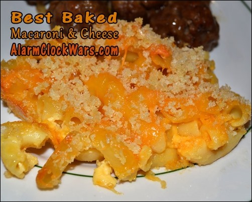 best baked macaroni and cheese