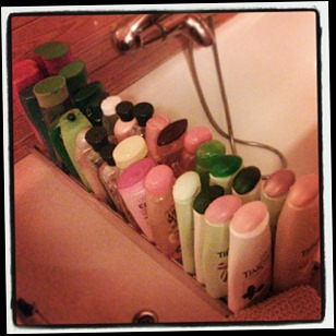 army of shampoos