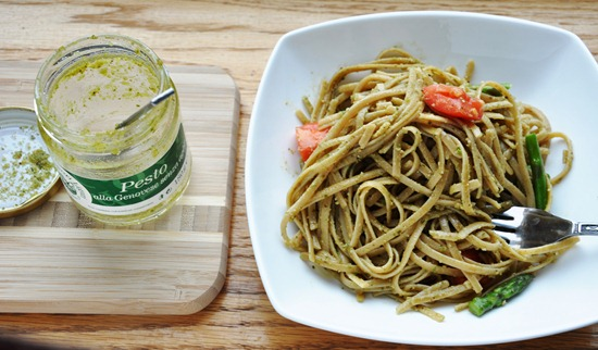 pesto linguine 201