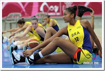 Baloncesto Femenino Brasil vs Ecuador