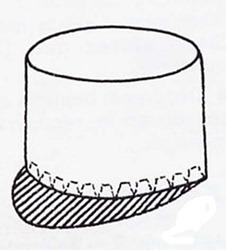 sombrero de gendarme quepi (3)