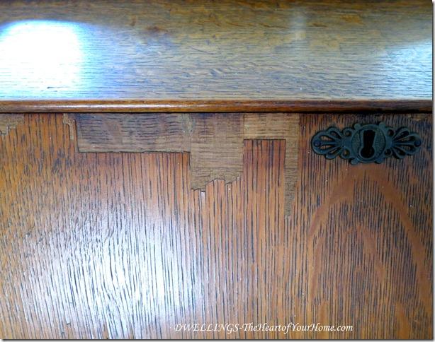 oak secretary