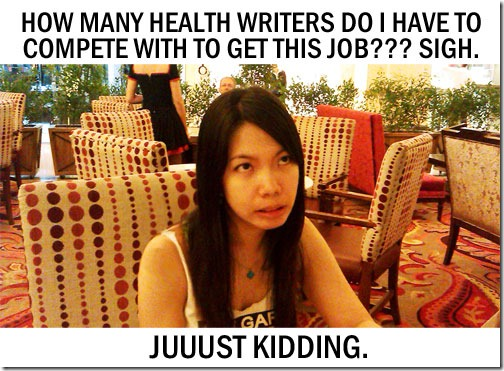 Health Writing Job