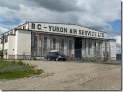 Hanger at Watsson Lake airport