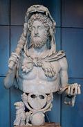 Cómodo como Hércules (Museo Capitolino)