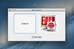 Convert Script to Mac Application with App Factory