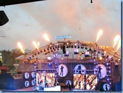 9584 Alberta Calgary Stampede 100th Anniversary - GMC Rangeland  Derby & Grandstand Show - Grandstand Show - high wire acrobat