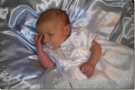 Edwards Baptism Gown by Mommy