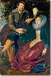 Rubens - Auto-Retrato com Isabella Brant