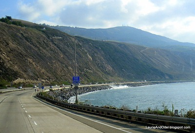 Driving south along 101