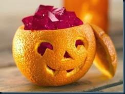 Arancia di halloween