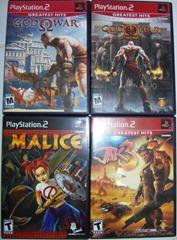 Minha coleção Atual de PS2: God Of War; God of War II, Jak 3 & Malice