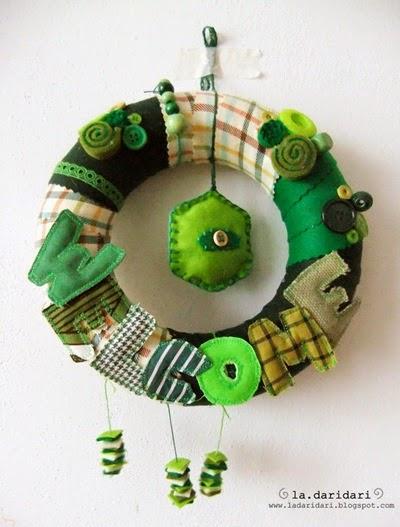 ghirlanda verde