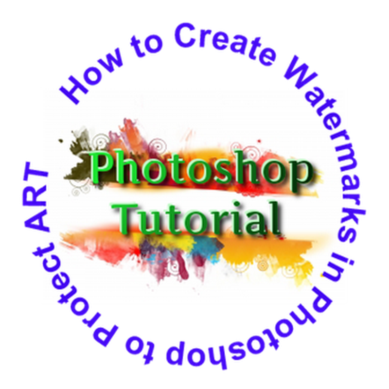 Photoshop Create Watermark Tutorial