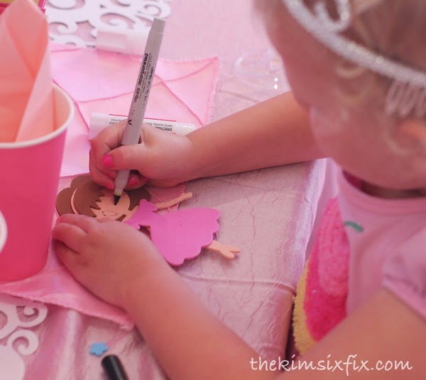 Princess birthday craft