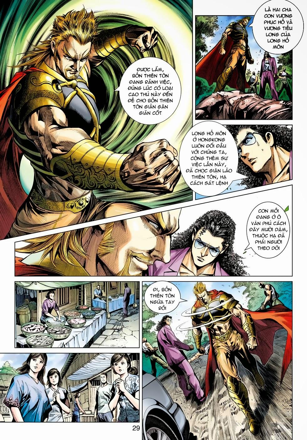 Tân Tác Long Hổ Môn chap 488 - Trang 28