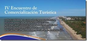 IV Encuentro de comercialización turística del 25 al 27 de octubre