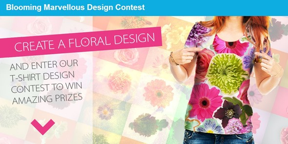 2014 June 07 flower design t shirt competition 1