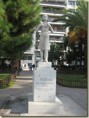 Statue Main Square Piraeus (Small)