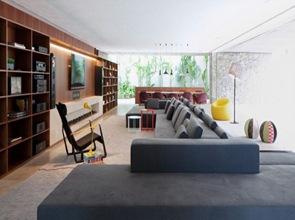 diseño interior sillon de sala moderno