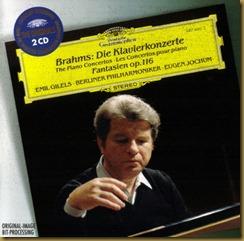 Brahms concierto piano 2 Jochum Gilels