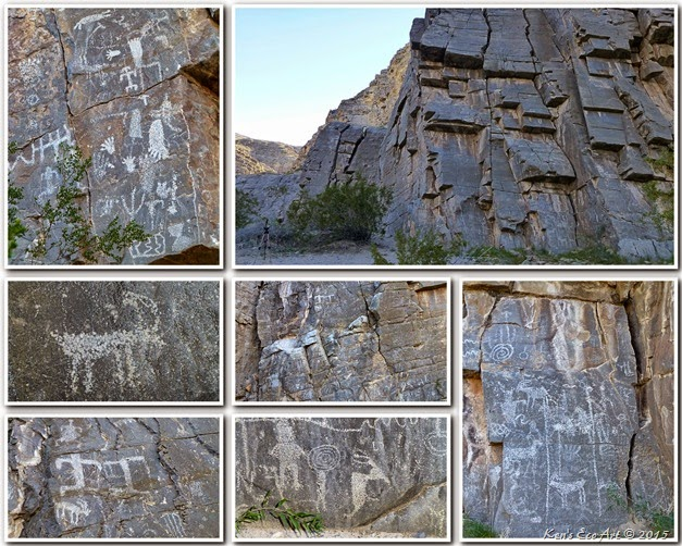 2012 Arrow Canyon Petroglyphs