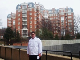 Steve & Ann's son Tim--a chef at Obama's Inauguration