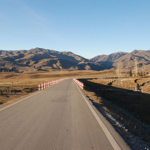 Xinjiang, Baihaba - Route du Pakistan
