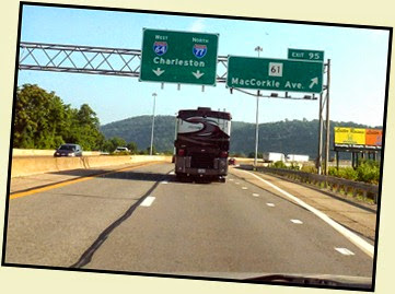 03b - I77 and I64 together in WV