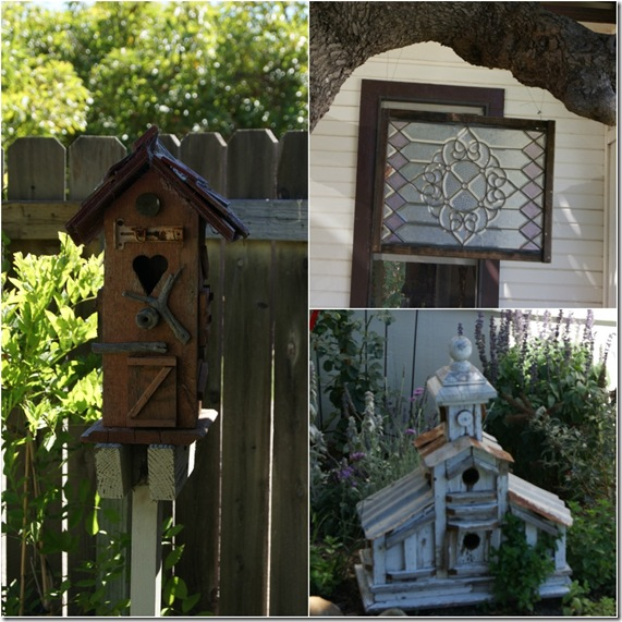 Bird Houses Collage