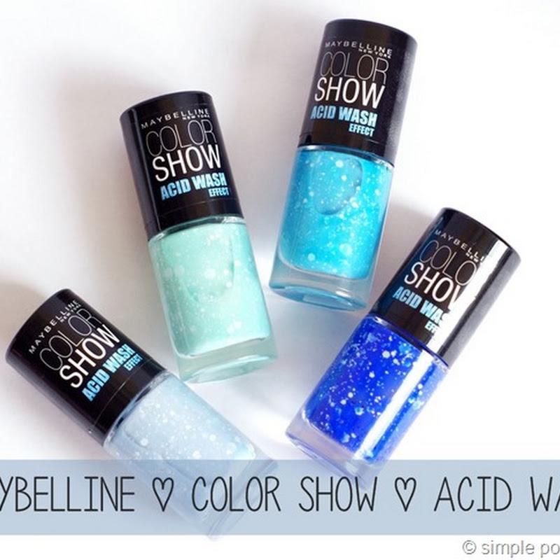 Maybelline | Acid Wash Effect (+ kleines Nail Art)
