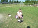 2013.08.20-035 Stéphanie dans la mini-ferme