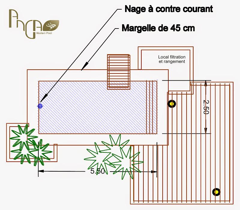 Les diff rentes formes piscine bois modern pool france for Plan piscine