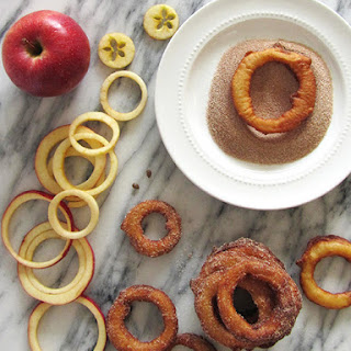 Fried Cinnamon Apple Rings Recipes