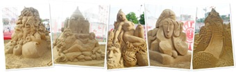 View Sand Sculptures
